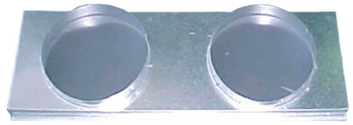 Plénum de reprise ELITE P/S50PF 2 x 250 Réf 95064
