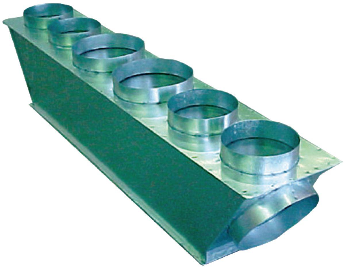 Plénum de soufflage RAVSM404SDTE 2 x 200 Réf 95067