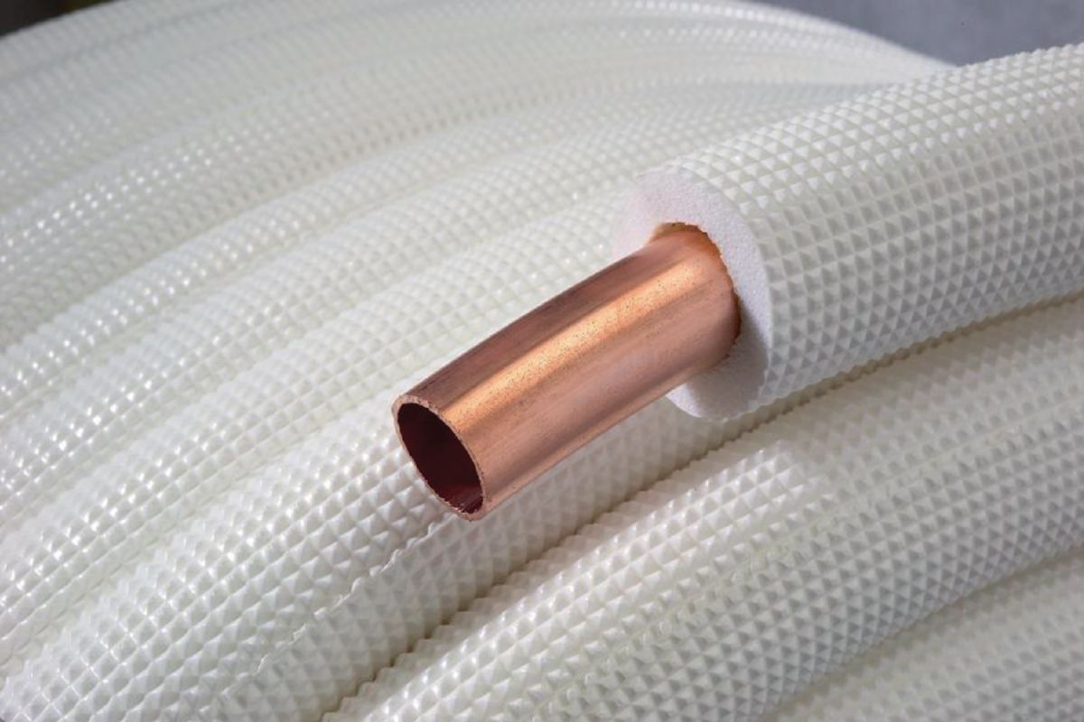 Liaison frigorifique isolée simple M1 3/4 épaisseur cuivre isolant 0,8-9mm longueur 20m ALF34AM120