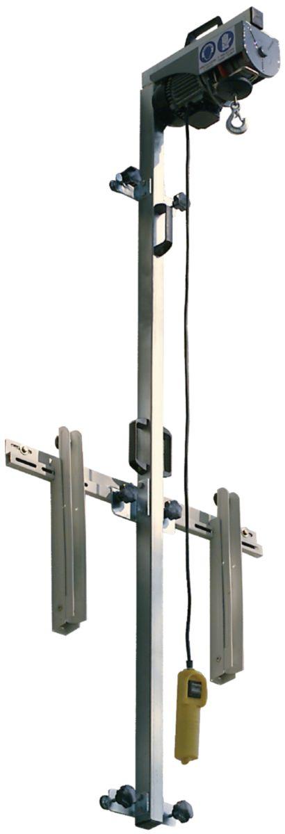 Lève groupe électrique portée 70 Kg hauteur 11m AEQ100