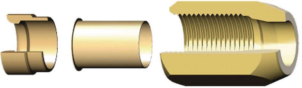 """Kit SERTO épaisseur 0,8mm diamètre 1/2"""" sachet de 10 pièces ACU267 / 4162384127"""