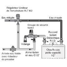 R gulateur limiteur de temp rature rlt mmv 20x27 2297009m2 watts industries - Chauffe eau temperature recommandee ...