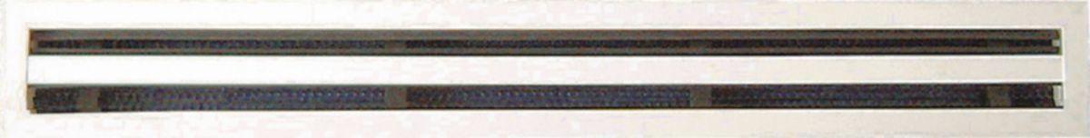 Pour hotte dair SHL, /Ø 125 mm Grille /à lamelles Grille da/ération en acier inoxydable Protection contre les intemp/éries