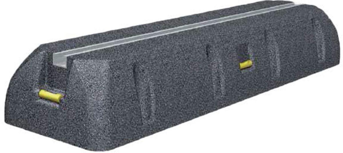 Support sol caoutchouc SUMO 1000 mm avec petit rail (paire) réf. 6868-100-01
