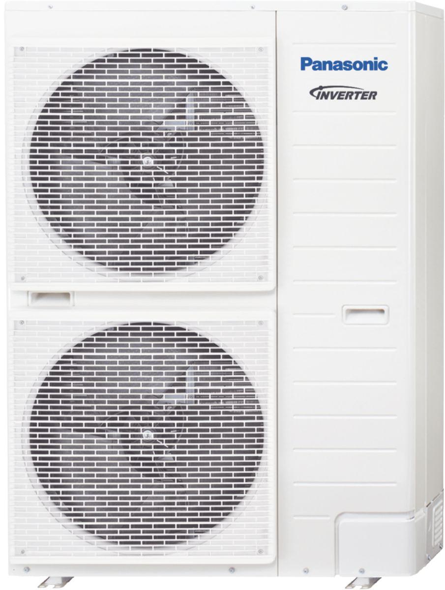 Unité extérieure PAC AQUAREA haute température chauffage 12kW triphasé Réf WH-UH12FE8