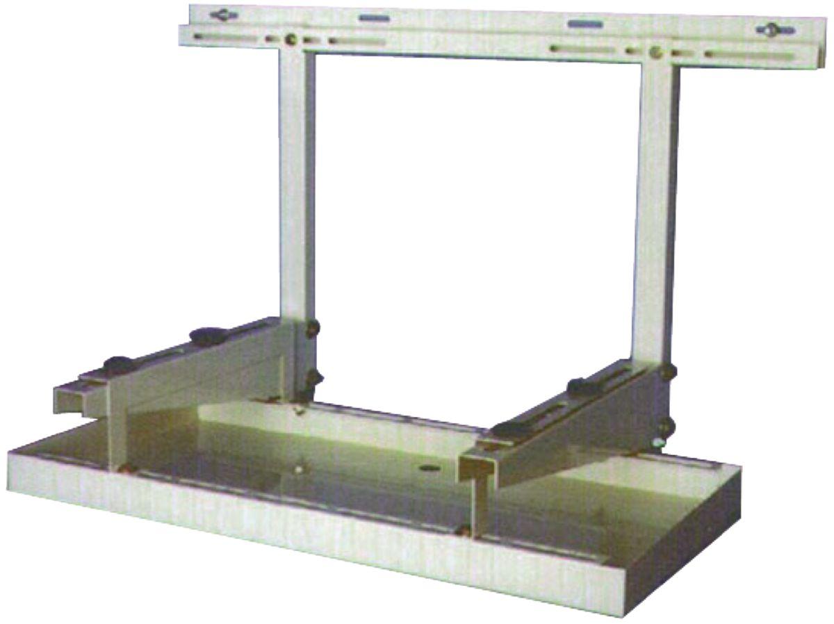 Bac métal à condensat dimension 1100x400 mm ASU207 Réf 167BB00006