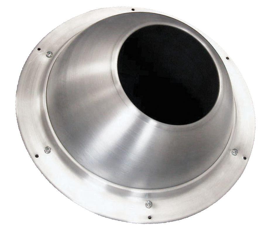 Buse anodisée diamètre 250 mm réf. AGI198A