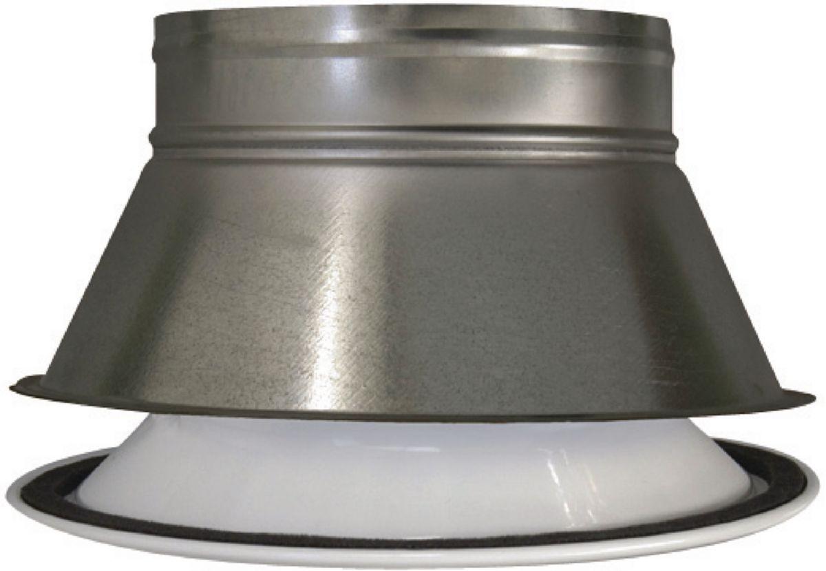Plénum pour grille ronde diamètre 250mm AGI193