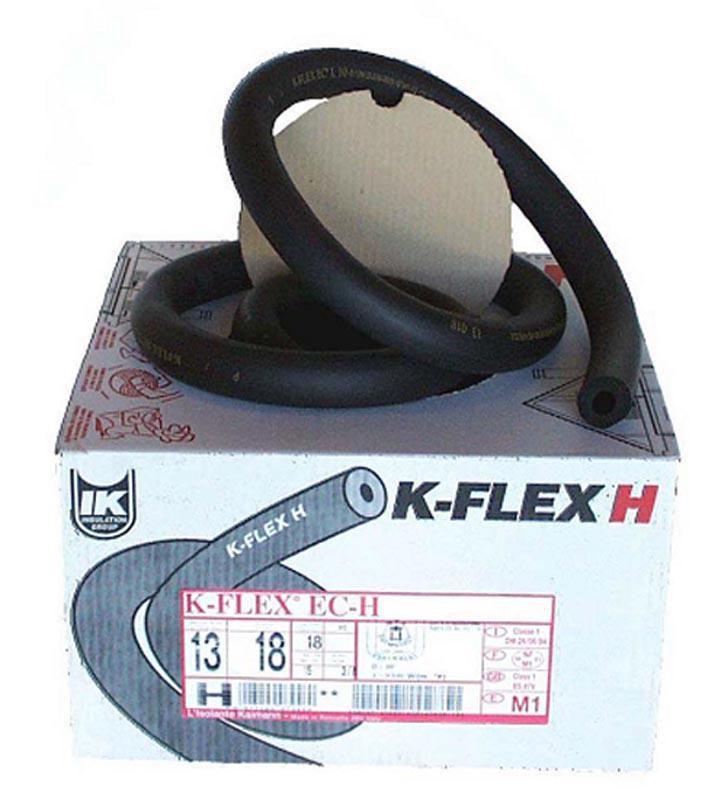 Couronne K-Flex ECH NF FEU épaisseur 13mm diamètre 18mm 25m réf ECH13X018