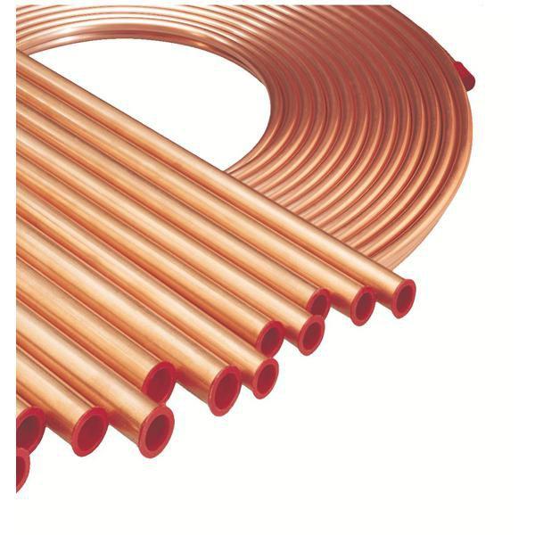 Barre de cuivre NF diamètre 5/8 longueur 4m épaisseur 1mm ACU103