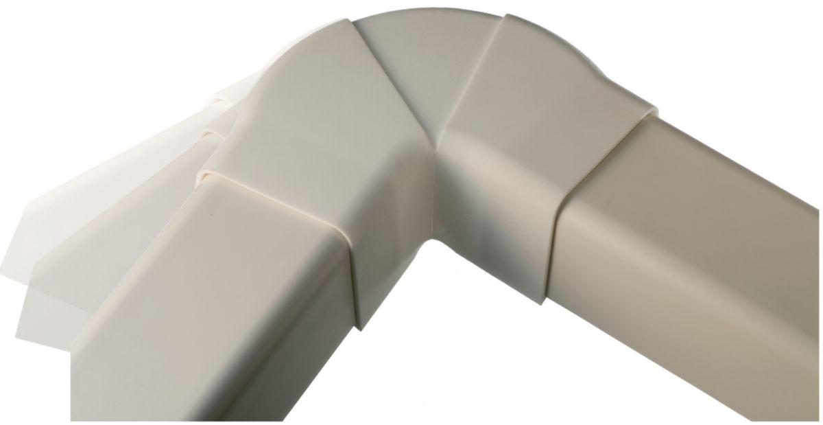 Angle apparent réglable pour goulotte 60x45mm 0622PR