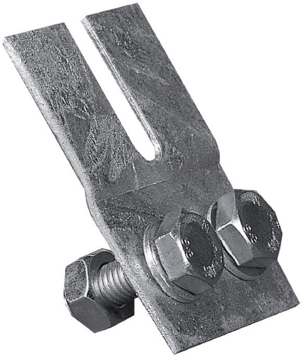 Patte de fixation support sol 4 pièces A12 réf. 175ACL0129