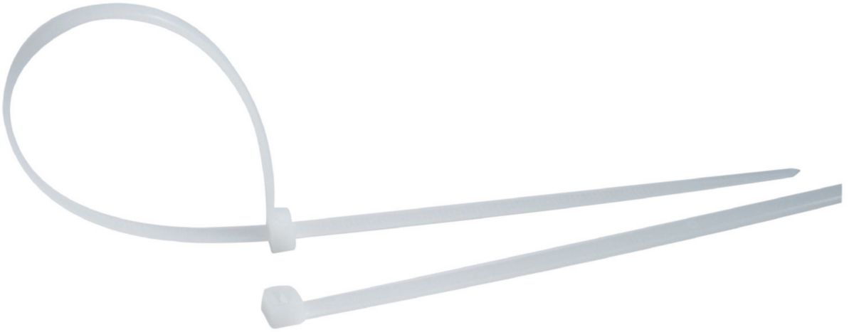 Collier nylon blanc 290 x 4,8 mm (sachet de 100) réf. SCB29048