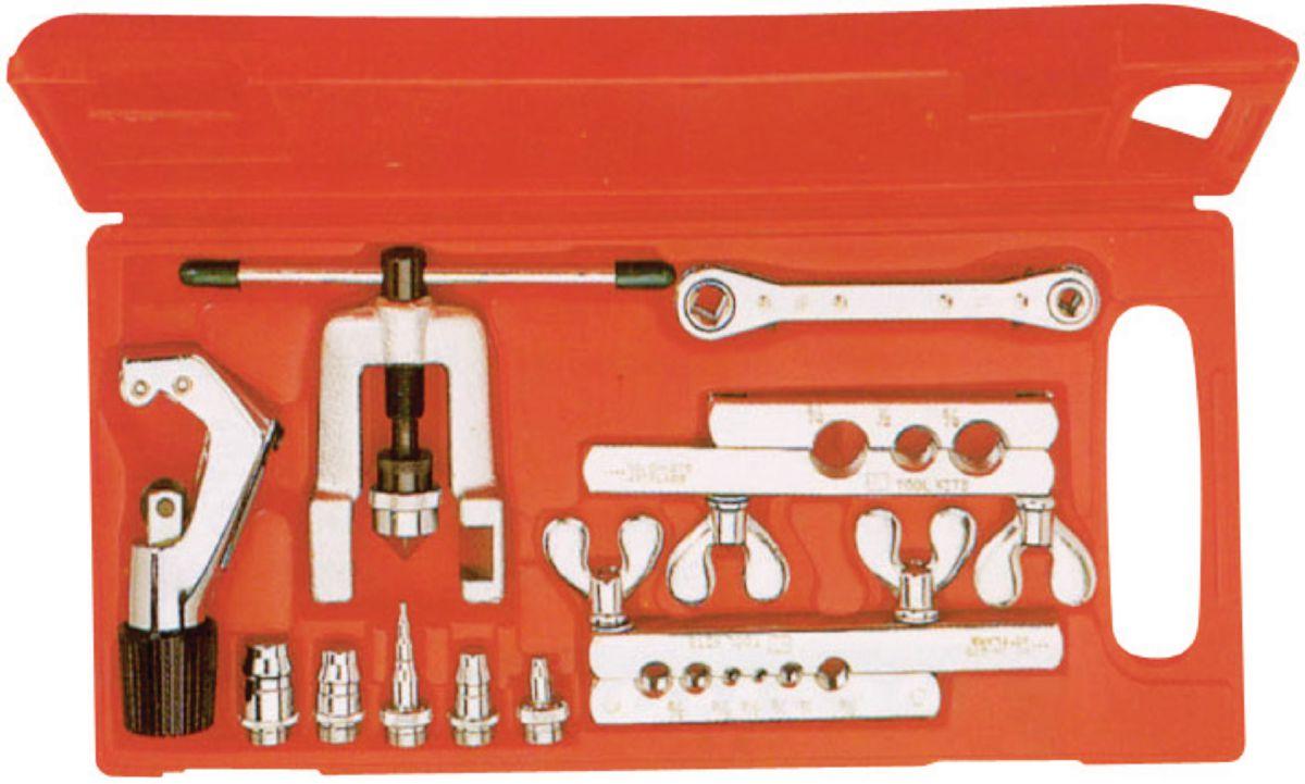 Dudgeonnière comprenant 5 mandrin et 1 coupe-tube AOU2677