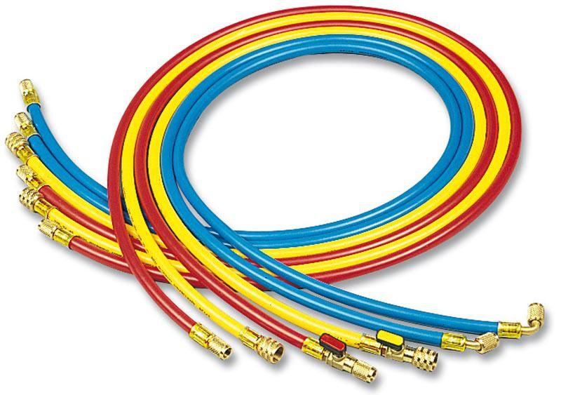 Jeu de 3 flexibles avec vanne 90cm R410A  3V/WSS/5-5/36/BRY