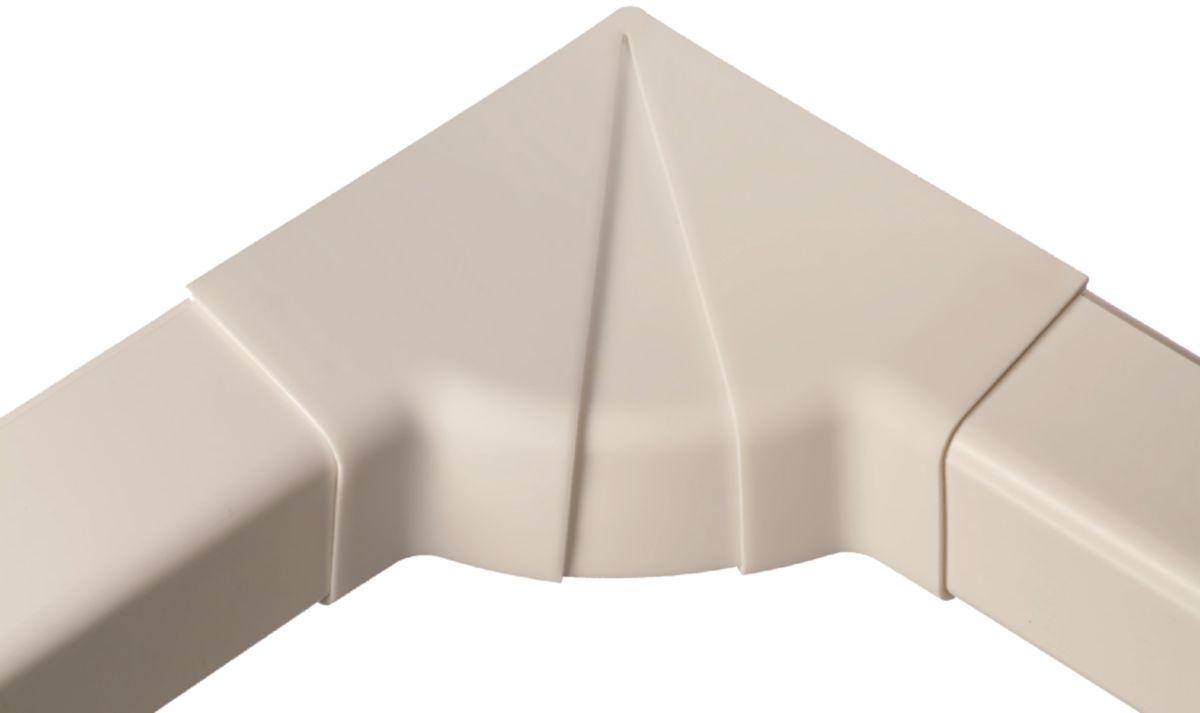 Angle intérieur réglable pour goulotte blanche 60 x 45 mm Réf 0620IR-W