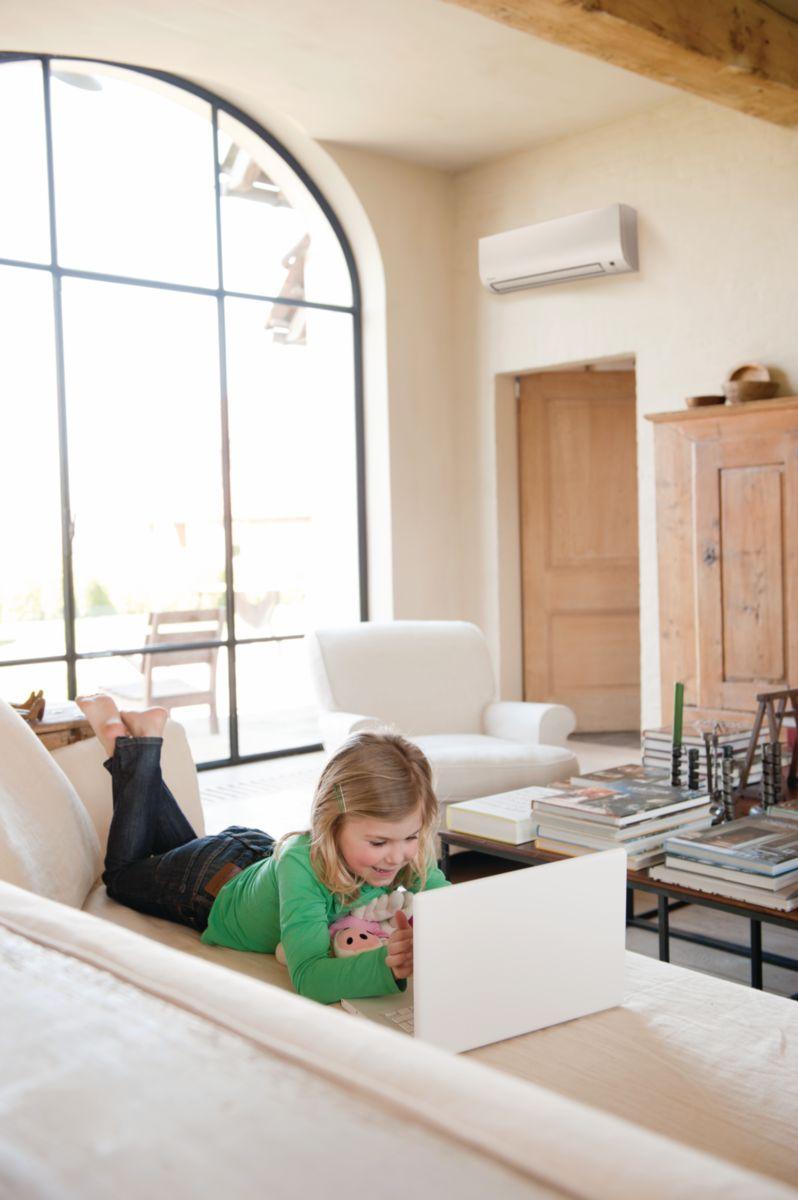 Unité intérieure murale Confort+ Bluevolution 7,1 kW classe énergétique A/A Réf FTXP71K3