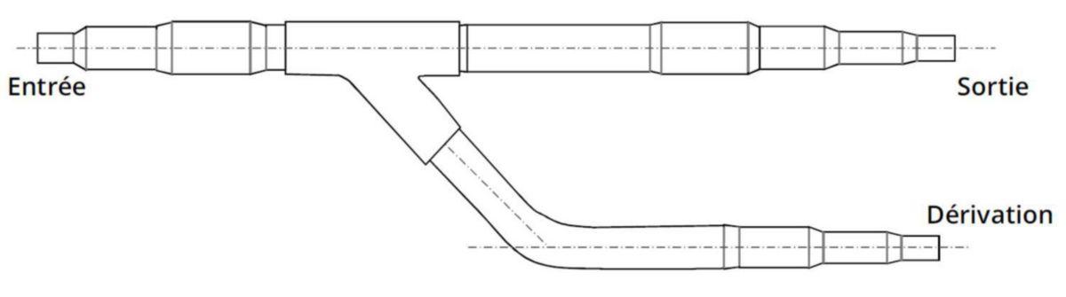 Réduction NET 7 / 8 M - 3 / 4F 5 / 8F 1/2F Réf R60
