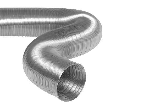 Conduit semi-rigide Aluminium Diam. 200 mm (3 Mètres) Réf. MZ200