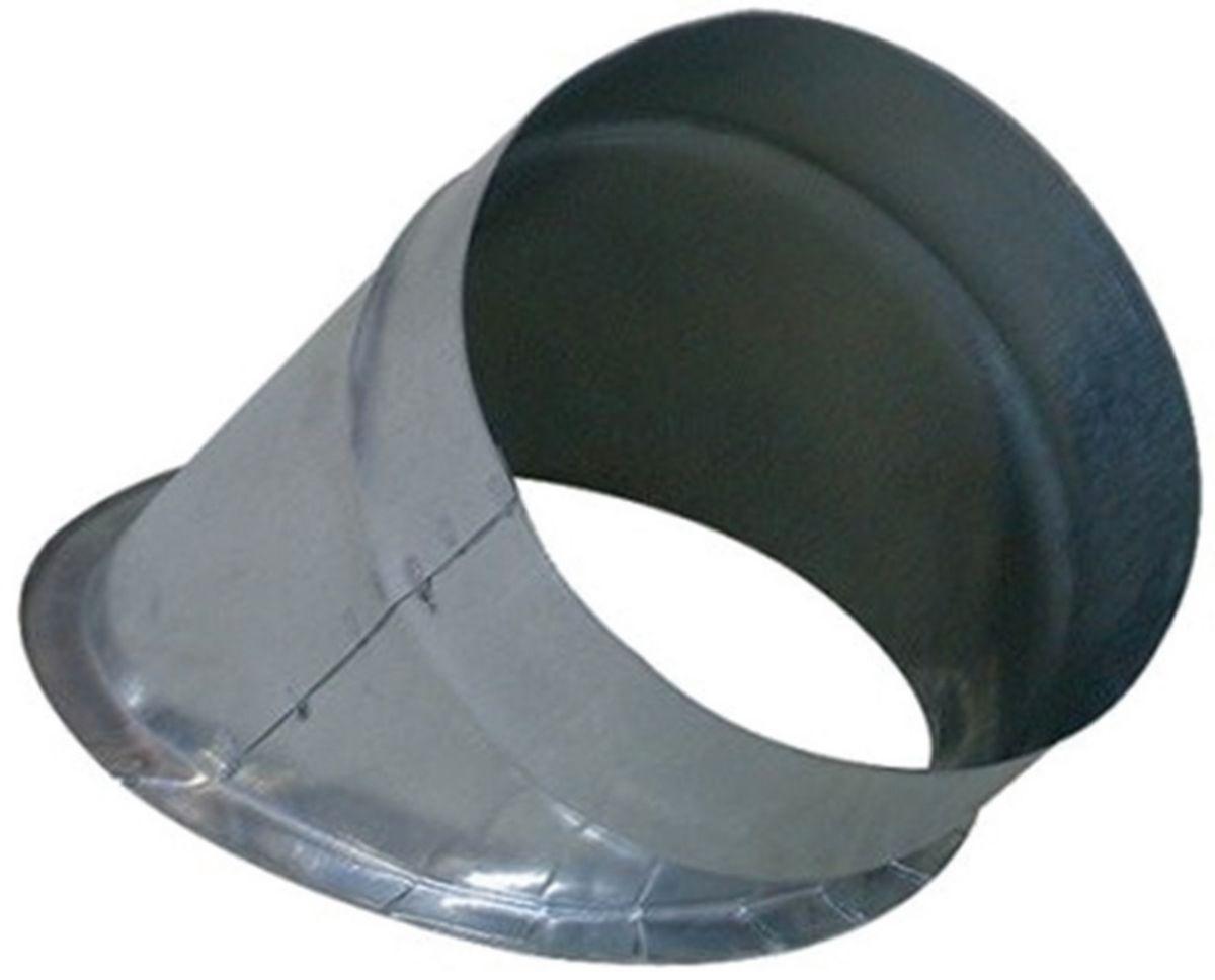 Piquage plat 45 degrés diamètre 125mm Réf. RMB45D0125