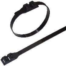 Collier nylon noir 290 x 9 mm (sachet de 100) réf. SDK290