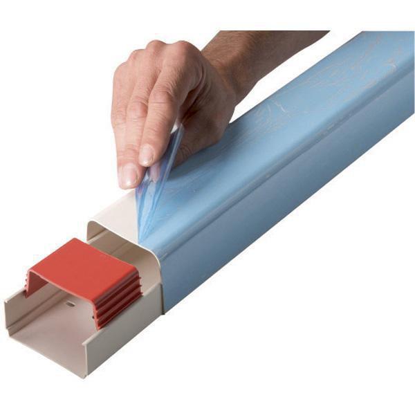 Goulotte 60x45mm longueur 2ml couleur ivoire Réf 0612BCF